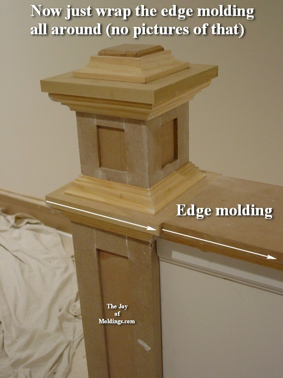 How to Build NEWEL POST-100 Part 2 - The Joy of Moldings