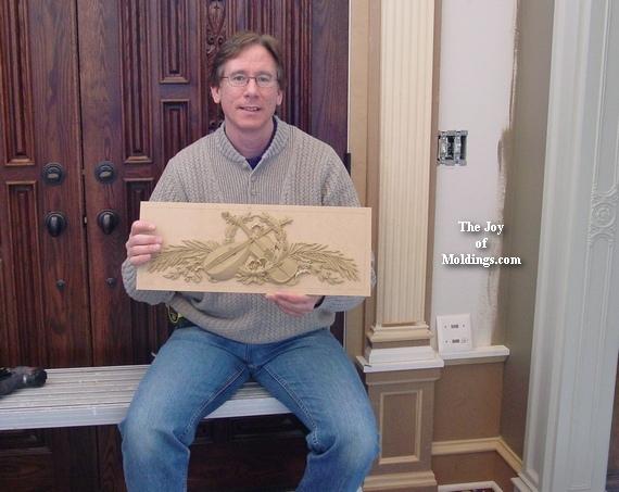 decorators supply compo woodworking applique