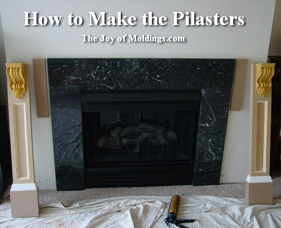 how to build a fireplace mantel - How To Build FIREPLACE MANTEL-102 Part 2: Make The Pilasters - The