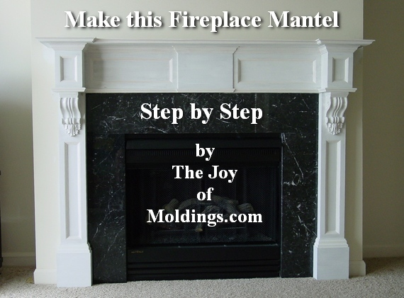 how to build fireplace mantel 102 for c 162 00 part 1 the joy rh thejoyofmoldings com