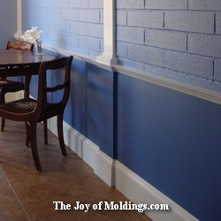 kitchen wainscoting