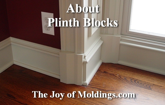 The Wonderful World Of Plinth Blocks The Joy Of Moldings