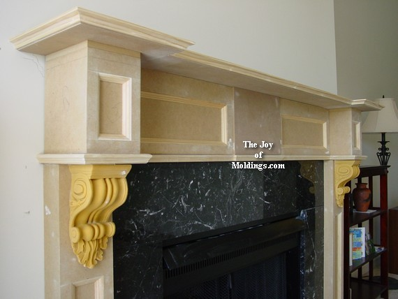 How to build a fireplace mantel diy step by step - How To Build FIREPLACE MANTEL-102 Part 5: Make The Hood - The Joy