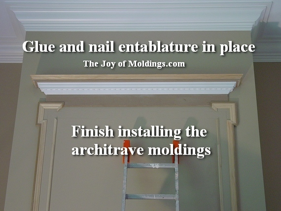 easy to install fireplace moldings