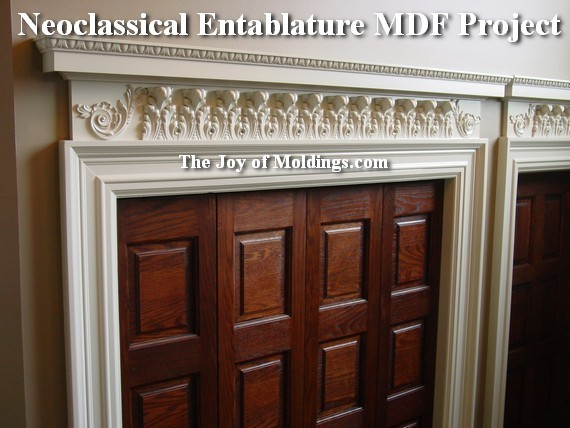 how to install mdf moldings