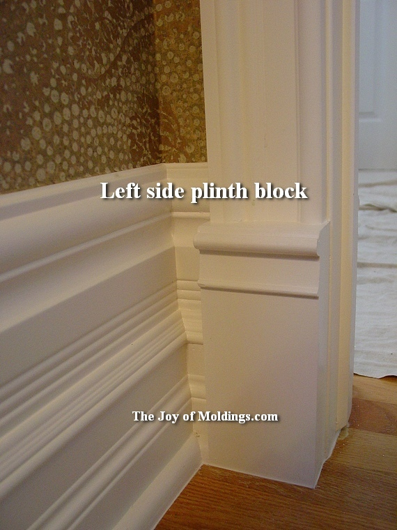 12 Plinth Block Victorian Painted The Joy Of Moldings