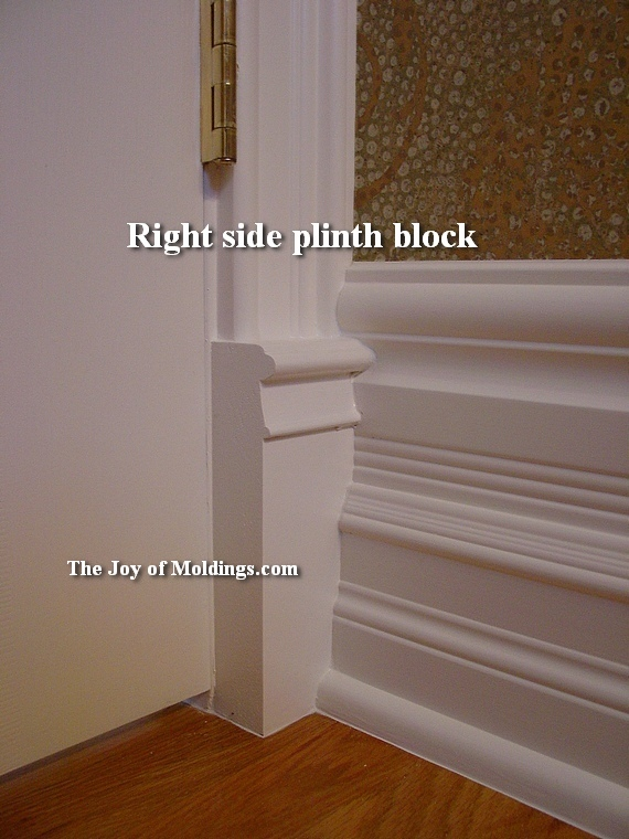 13 Plinth Block Victorian Painted The Joy Of Moldings