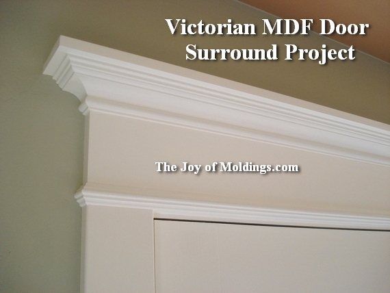 how to install door trim moulding 3