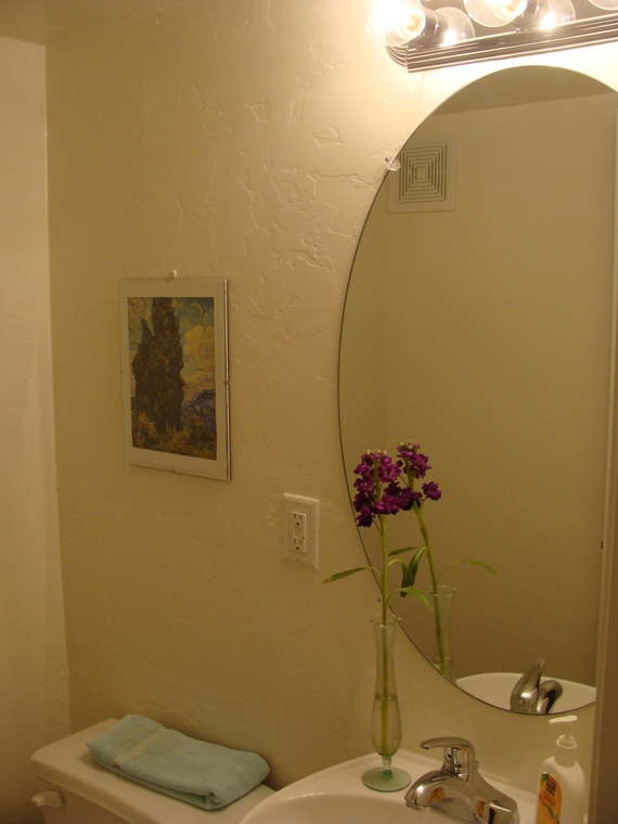 Half Bathroom Molding Renovation Starts This Weekend The Joy Of