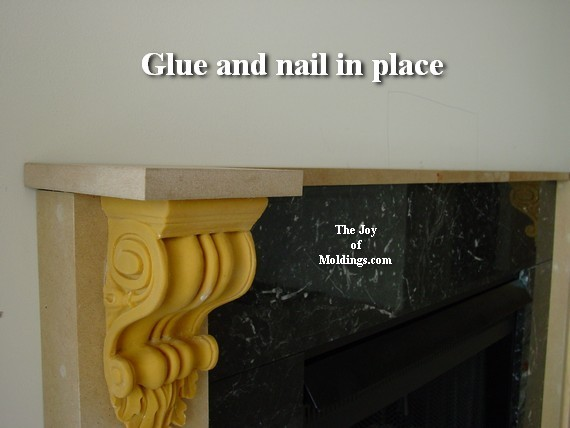 How To Build Fireplace Mantel 102 Part 3 Make The Collar Capitals The Joy Of