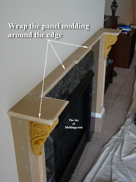 How to build fireplace mantel 102 part 3 make the collar capitals diy fireplace mantel easy to build solutioingenieria Images