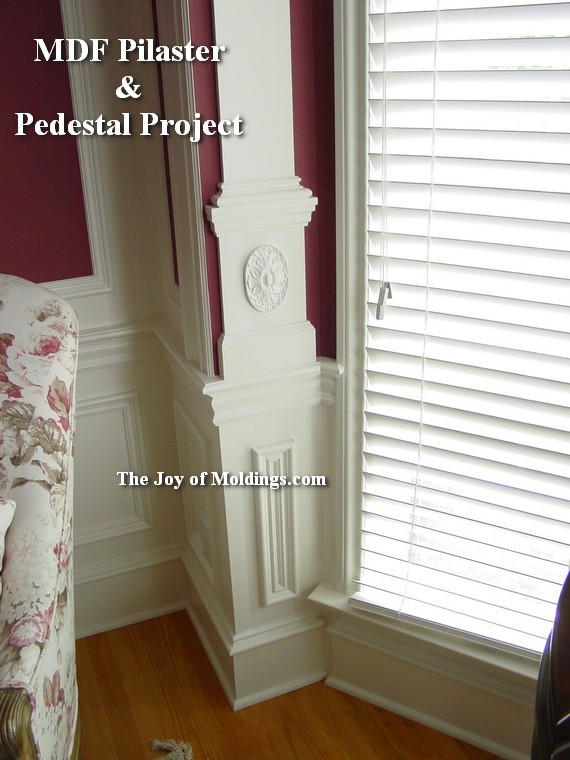 how to isntstall moldings