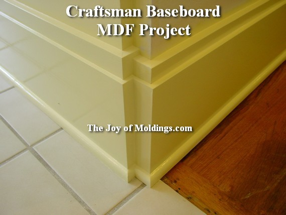 how to instal mdf moldings