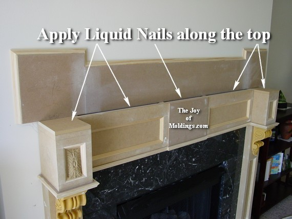 how to build a fireplace mantel from mdf board - How To Build A Fireplace Surround