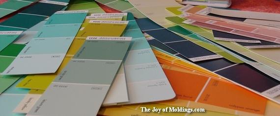 paint color chips