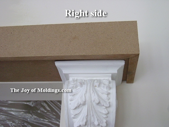 Door trim 115 how to intsall crown molding over door for Over door decorative molding
