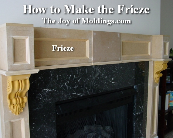 how to build a diy fireplace mantel from mdf - How To Build A Fireplace Surround