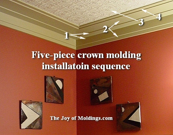 frank lloyd wright moldings. Create This Art Deco Powder Room for  113 49   The Joy of Moldings com