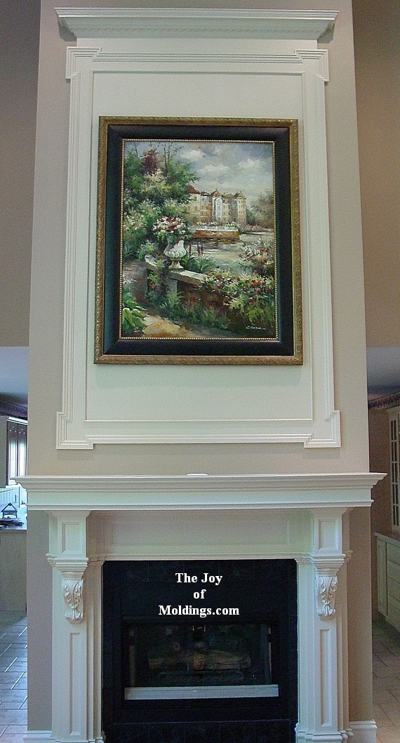 how to build an overmantel