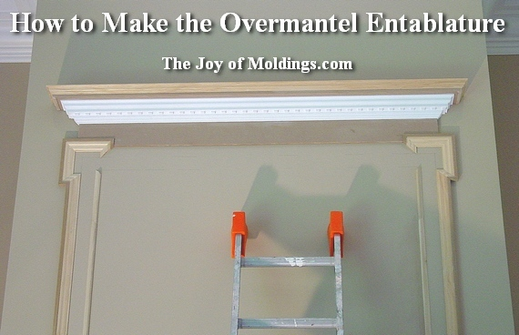 how to build a georgian period overmantel