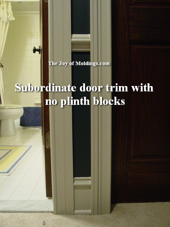 how to use plinth blocks