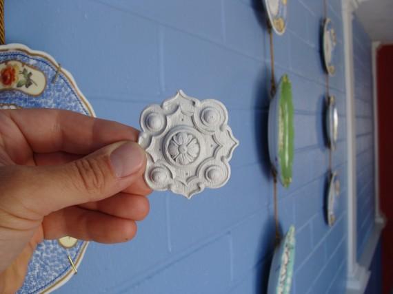 woodworking applique onlay rosette