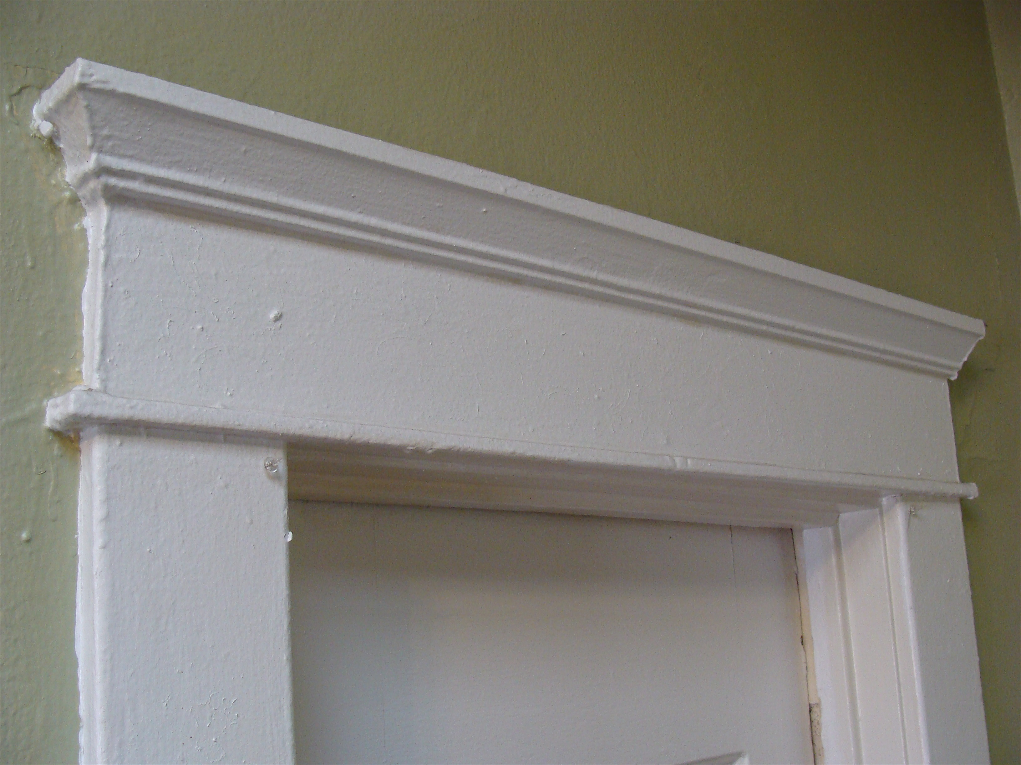 Door headers reframing doorway on load bearing wall 1 for Interior window crossheads