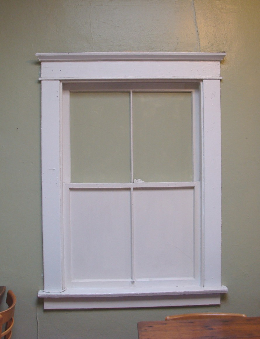 Interior window trim styles