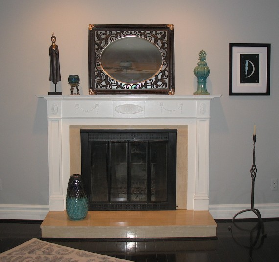 Fireplace facelift the joy of moldings fireplace mantel after solutioingenieria Images