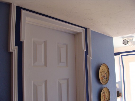 easy door trim molding installation