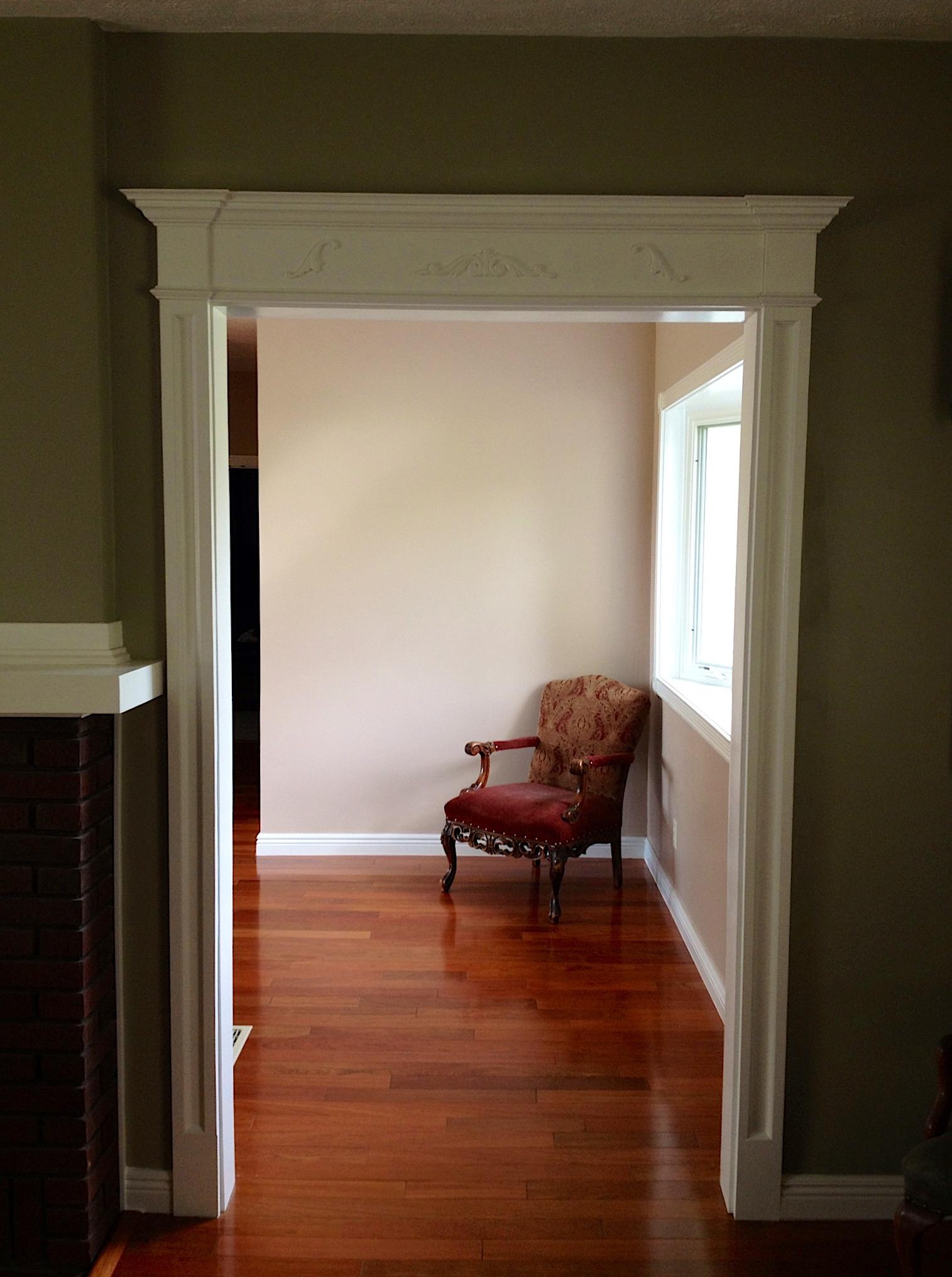 Doorway Trim Molding Door Trim Molding Billy Green Walls 3 The Joy Of Moldingscom