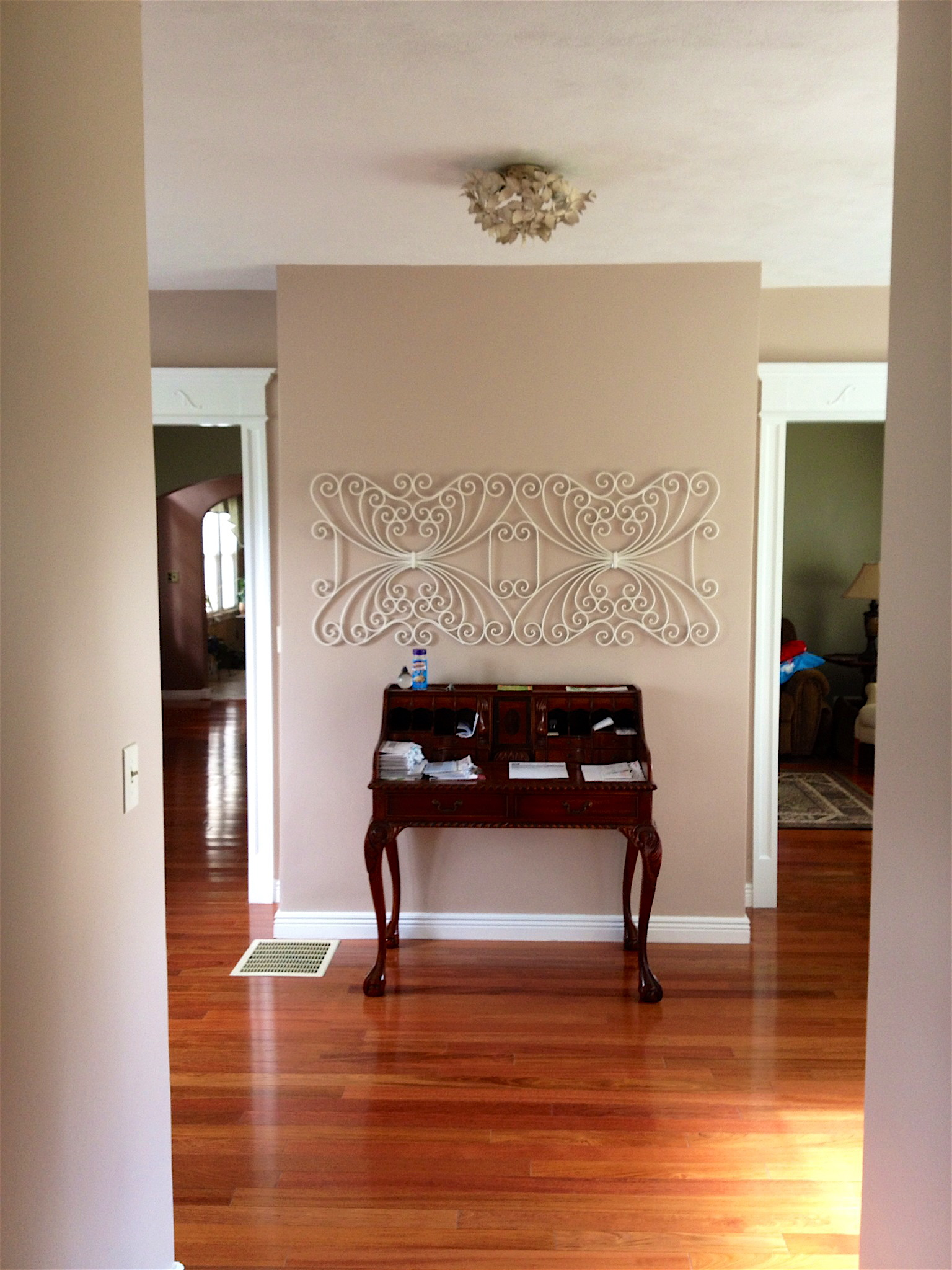 white-painted-door-trim-living-room-6 - The Joy of Moldings.com