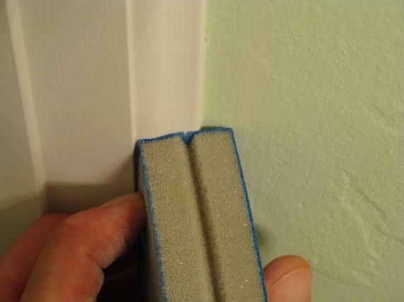 sanding sponge moldings