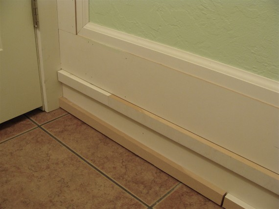 how to install baseboard skirting board moldings