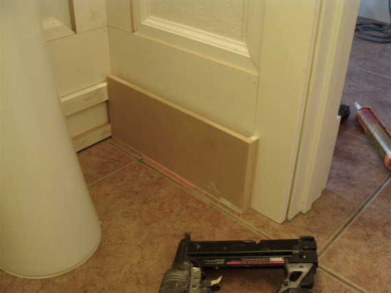 baseboard skirting board molding