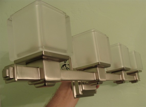 Kichler bathroom light fixture