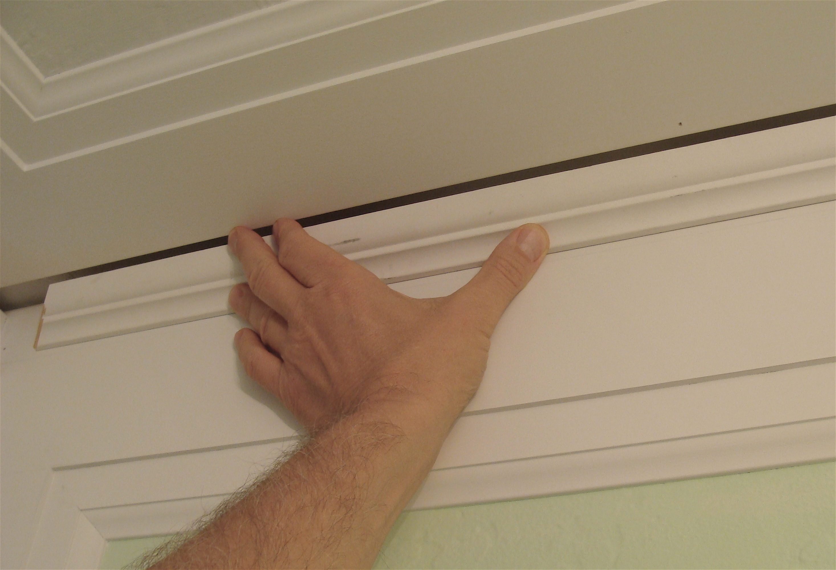 Bathroom Crown Molding Half Bathroom Renovation Crown Molding Design Change The Joy Of