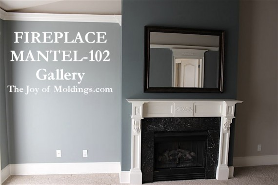 diy mdf fireplace mantel