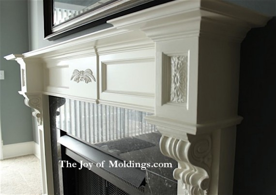 FIREPLACE MANTEL102 Gallery The Joy of Moldingscom