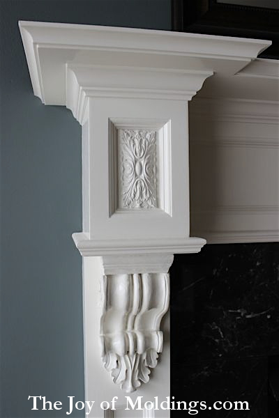 fireplace mantel free plans