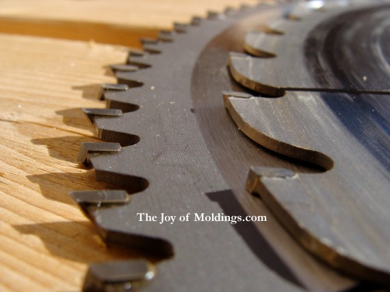 Miter saw blade for cutting moldings the joy of moldings miter saw blades greentooth Images