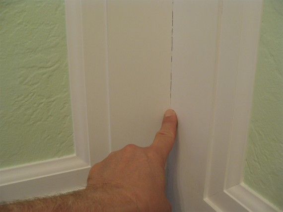 Quick Tip When To Use Spackling And When To Use Caulk On