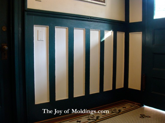 tall victorian wainscoting
