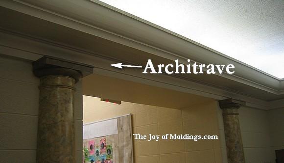 Pilaster 100 the joy of for Fiberglass crown molding