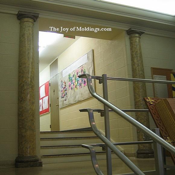 doric pilasters
