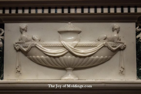 urn fireplace ornament