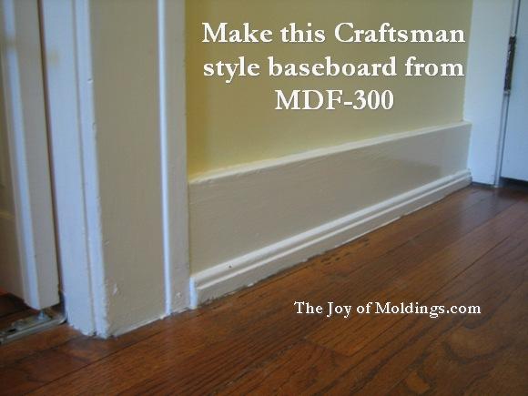 craftsman baseboard