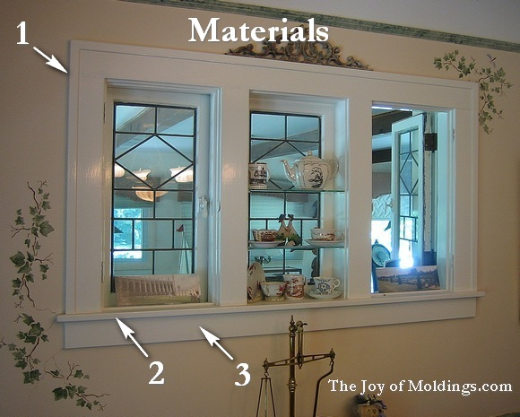 Make window trim 101 for about the joy of for Interior trim materials