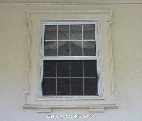 window trim architectural moldings