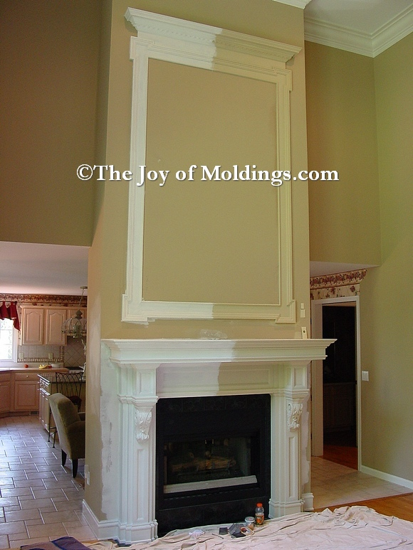 Molding Painting Tip: Use Primer to Help You Choose Colors - The ...